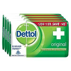 Dettol Soap Original, 125g (Pack of 4)