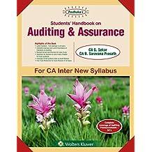 Students' Handbook on Auditing & Assurance: for CA Inter New Syllabus