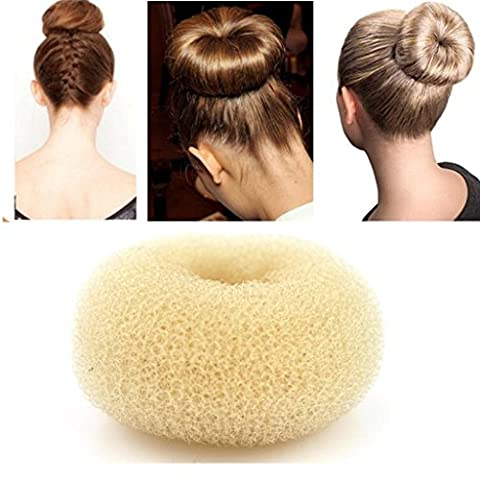 iLuLu Beauty 1 Stueck Hair Styling Netz Chignon Bun Donut