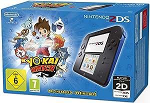 Nintendo 2DS – Konsole (blau) inkl. YO-KAI WATCH (vorinstalliert): Nintendo