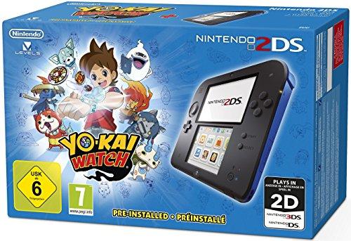Preisvergleich Produktbild Nintendo 2DS - Konsole (blau) inkl. YO-KAI WATCH (vorinstalliert)