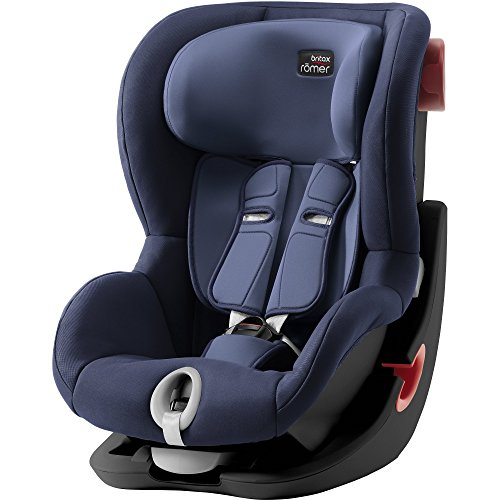Preisvergleich Produktbild Britax Römer Autositz KING II Black Series, Gruppe 1 (9 - 18 kg), Kollektion 2018, moonlight blue