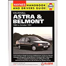 Vauxhall Astra and Belmont Handbook and Driver's Guide (Handbooks & drivers' guides)