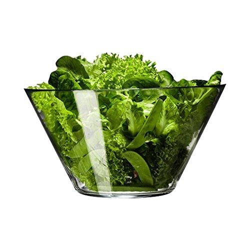 Glas Obstschale Gemüse Salat Dessertschale Dick transparent Große Schüssel