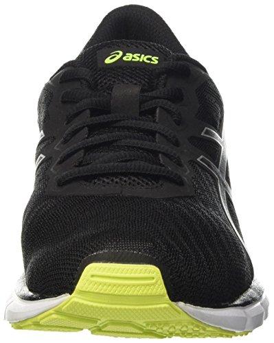 Asics Gel-Zaraca 5 - Chaussures Multisport Outdoor - Homme Nero (Black/Safety Yellow/Black)