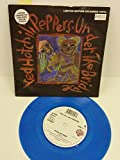 RED HOT CHILI PEPPERS under the bridge, 7 inch single, limited edition blue vinyl, number: 04015, W0237