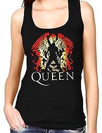 35mm - Camiseta Mujer Tirantes - Queen - Freddie Mercury - Women'S Tank Top