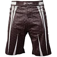 'Tatami Niños MMA BJJ No GI Pantalones Cortos Matrix, Color Negro, tamaño Small