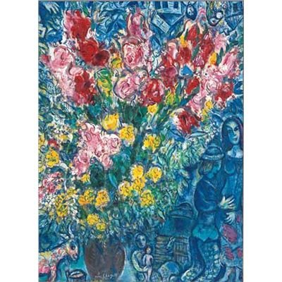 Editions Ricordi 5801N15858A - Chagall, Vaso di fiori, Puzzle da 1000 pezzi