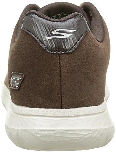 Skechers Go Walk CityRetain, Sneakers basses homme Marron (Choc Chocolat)