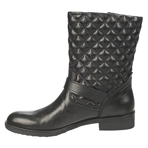 Franco Sarto Padua Cuir Botte Black
