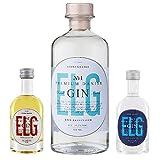 ELG Premium Gin - Das Set: No. 1 / No. 2 / No. 3