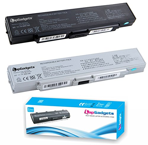 Lap Gadgets Laptop Battery For SONY VAIO VGN-NR490 BPS9 6 Cell