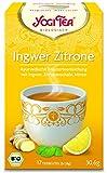 10 x Yogi Tee BIO Ingwer Zitrone (=10er Pack) (frachtfreie Lieferung innerhalb Deutschlands)