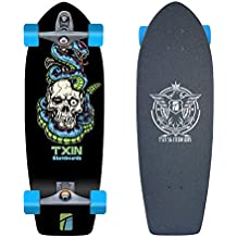 Nuevo Surf skate TXIN. Carver system with Glutier T12 TRUCKS. Txin surfskate ...