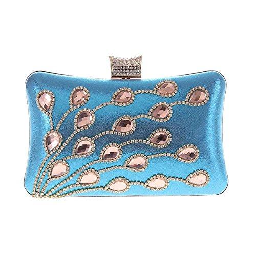 LAIDAYE Diamond Bankett Party Dinner Party Taschen Umhang Taschen Damen Handtaschen Taschen 7