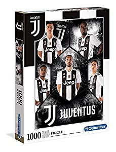 Clementoni Collection puzzle-juventus-1000 Unidades, Multicolor, 39475