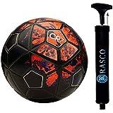 RASON Red CR-7 3 Ply PVC Football (Size-5)