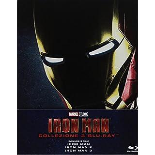 Iron Man-La Collezione Completa (Steelbook) (3 Blu-Ray) [Import Italien]