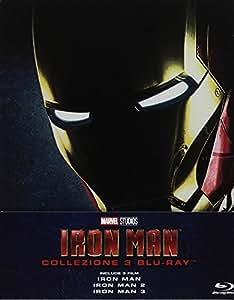 Iron Man Trilogia Steelbook (3 Blu-Ray)