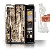 Stuff4 Gel TPU Hülle / Hülle für Huawei Ascend G6 /