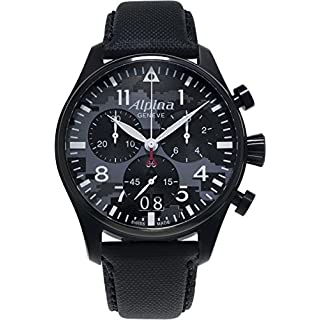 Alpina Men's Starter Pilot Quartz Chronograph Camouflage Dial  44 mm Watch  AL-372BMLY4FBS6