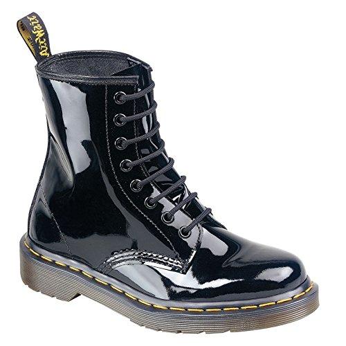 Dr. Martens Schuhe - Docs 8-Loch Boots - patent black - 1460, Größe:39 (Patent Leder-booties)