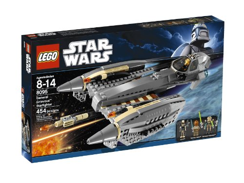 al Grievous Starfighter Baukasten–-Spiele Bau (mehrfarbig, 8Jahr (S), Film, 14Jahr (S)) (Lego General Grievous Starfighter)