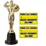 Statuetta premio per la pensione