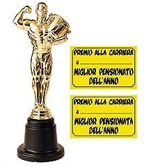 Idea Regalo - Statuetta premio per la pensione