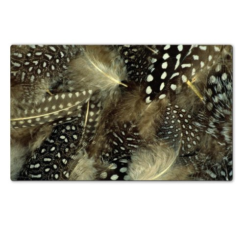 black-white-dots-feather-ruffle-table-mats-customized-made-to-order-support-ready-28-6-16-inch-720mm