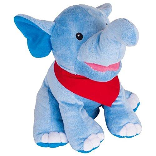 Handpuppe Elefant Nira, weich und kuschlig, Goki