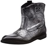 DIESEL Damen Boots Schuhe echt Leder Used Look Spitze