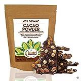 CACAO POLVERE BIOLOGICO, Ingrediente cioccolato vegano di qualità premium, senza zucchero, sapore delizioso per cucinare, preparare frullati energetici e barrette proteiche - 400g - Nutri Superfoods