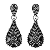 Best SODIAL Robes (R) Party - SODIAL Femme Boucle d'Oreilles Traversantes Le Charmant Style Review
