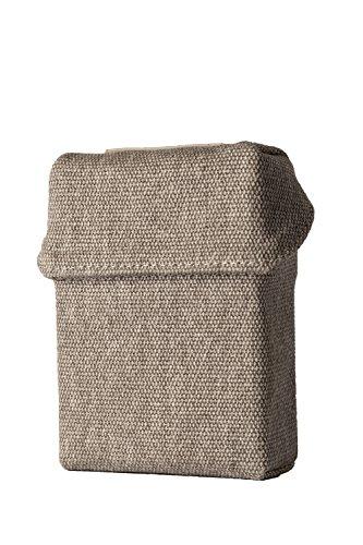 smokeshirt® Club Big Zigarettenetui in div. Designs 23-25 Zigaretten XL smoke shirt für Zigarettenschachtel in XL Größe modisch, Elegante, patentiert -