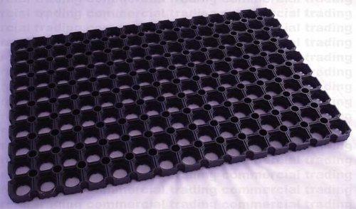 new-ring-a-link-rubber-black-outdoor-scraper-door-mat-40cm-x-60cm