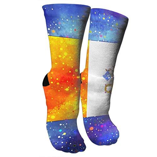 Bgejkos Crazy Socks Vatican City Flag Starry Flag 3D Crew Socks (Peds Crew Socken)