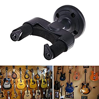 Amazingdeal365 Guitar Acoustic Electric Bass Wall Rack Hook Mounted Brackets Hangers Holders