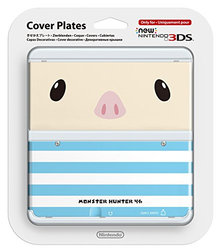 New Nintendo 3ds Cover Plates [Nintendo 3DS]No.038 (monster hunter 4G). (Pokemon 3ds Xl Cover)