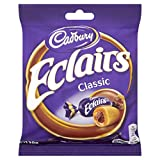 Cadbury Chocolate Eclairs, 130g (Pack of 12)