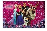 Disney Frozen Eiskönigin Schreibtischunterlage Schreibunterlage Unterlage Tischunterlage mit Sticker von Kids4shop