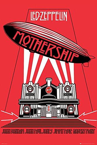 GB eye LTD, Led Zeppelin, Mothership, Maxi Poster, 61 x 91,5 cm