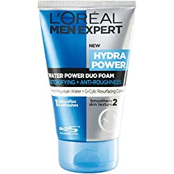 L'Oreal Paris Men Expert Hydra Power Duo Foam Cleansers, 100ml