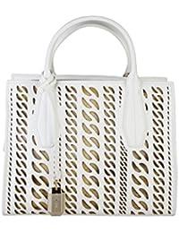 11072eb7e2 Versace Women s Shoulder Bag white White