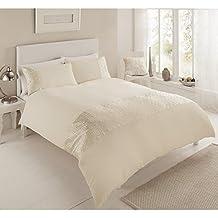 Premium PURE-Set copripiumino-Vintage, Set di lenzuola per letto King Size,