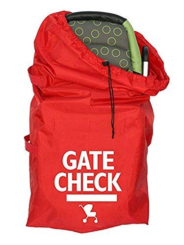 Bolsa de viaje con asa de cincha para cochecitos estándar y dobles, color rojo # 81559