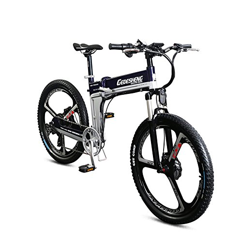 "51 9bGmtQpL. SS500  - GTYW Electric Folding Bicycle Mountain Bicycle Adult Bicycle - 26""-90km Life"