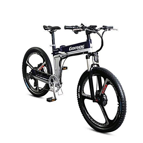 GTYW Bicicleta eléctrica plegable de montaña para adulto de 26