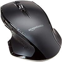 AmazonBasics Full-Size Ergonomic Wireless Mouse with Fast Scrolling